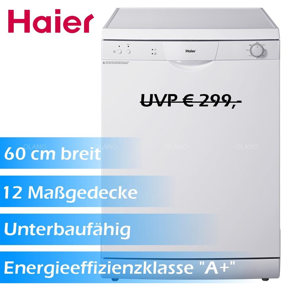 Geschirrspüler Haier DW12TFE2 60 cm Spülmaschine